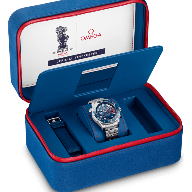 Scatola Speciale OMEGA SeaMaster 300m Chrono America's Cup Edition 210.30.44.51.03.002